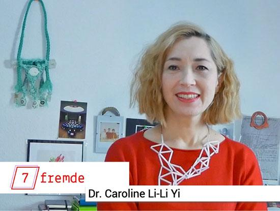 Screenshot des Youtube Videos mit Dr. Caroline Li-Li Yi